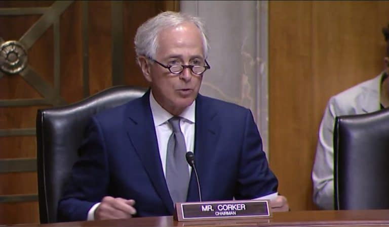 """Just Hours After Helsinki, Bob Corker Goes After Trump Directly with Congress Plea: """"It is time for Congress to step up"""""""