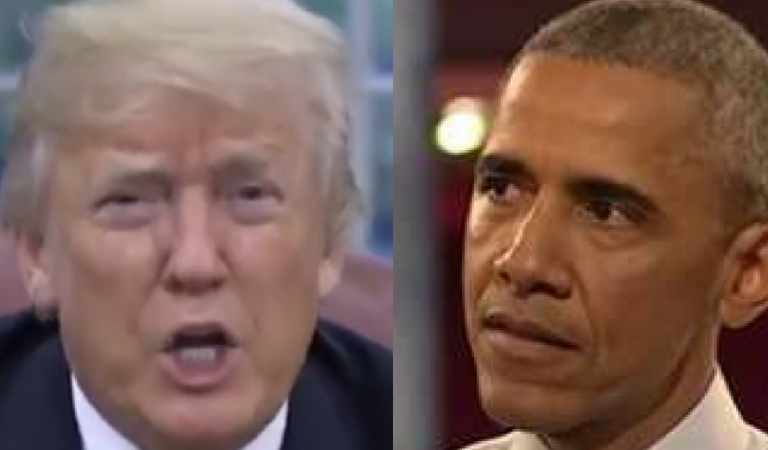 Trump Complained President Obama Didn't Have Flags In Oval House, Twitter Busted Him In Lie With Perfect Image