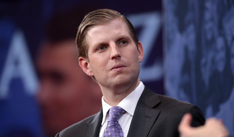 "Social Media Users Mocked Eric Trump After He Tweeted Photo Of Hat With ""Leave Our President Alone"" On It"