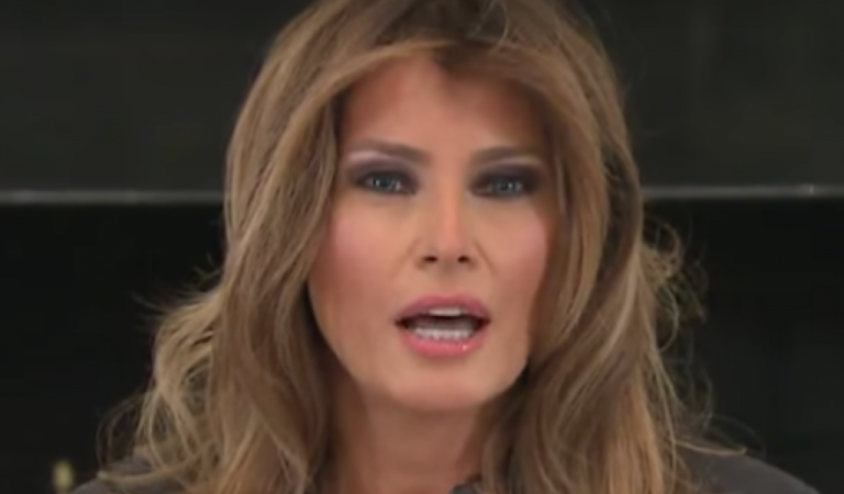 CNN Reports Melania Trump Was Busy Doing A Photo Shoot During Capitol Chaos