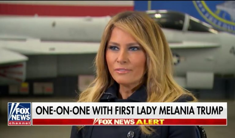 "Melania Goes On Fox News And Attacks The Media, Calls Them ""Opportunists"""