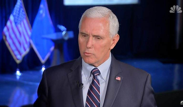 "Pence Gave Americans His ""Number One"" Advice: ""Spend More Time On Your Knees Than On The Internet"""