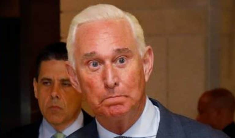 """White House Throws Trump's Buddy Roger Stone Under The Bus, Admits He """"Did Something Wrong"""""""