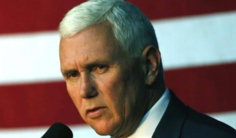 "Pence Reportedly Hasn't Spoken To Trump Since Wednesday, Source Says He Feels ""He Was A Good Partner For Years"" And Trump Abandoned Him Over ""One Little Thing"": UPDATED: MSNBC Reports They Have Since Spoken Today"