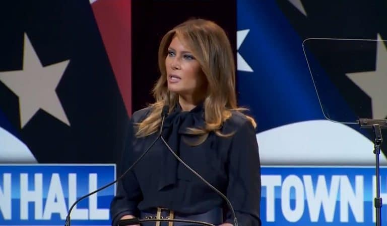 Melania Trump Just Issued Ironic Tweet About Drug Addiction, Internet Tears Her To Shreds