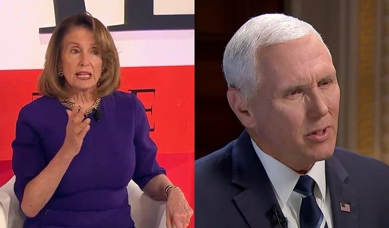 Twitter Users Reacted After Pelosi Booted Pence Out Of His Office Space
