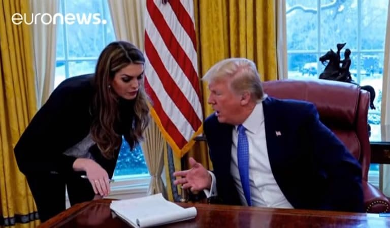 Hope Hicks Makes Her Return To The White House In A New Role