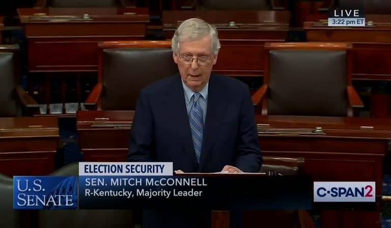 "Mitch McConnell Was Described As Being ""Visibly Livid"" By Observers On Senate Floor Over Accusation He's A ""Russian Asset"""