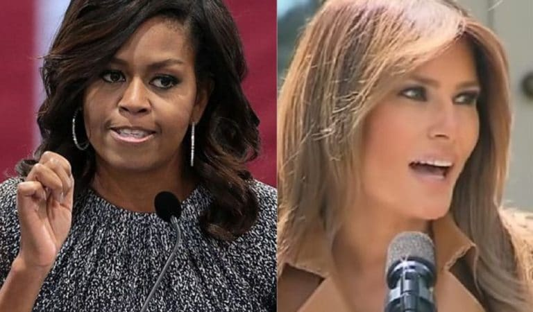 Michelle Obama Sends Greta Thunberg Words Of Encouragement After She Was Mocked By Trump