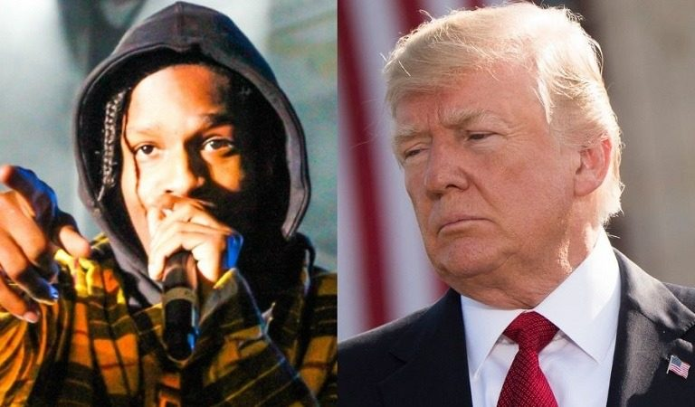 "White House Angry A$AP Rocky Didn't Thank Trump After He Was Released From Swedish Jail, Blames It On ""Herd Mentality"" Of Black People"
