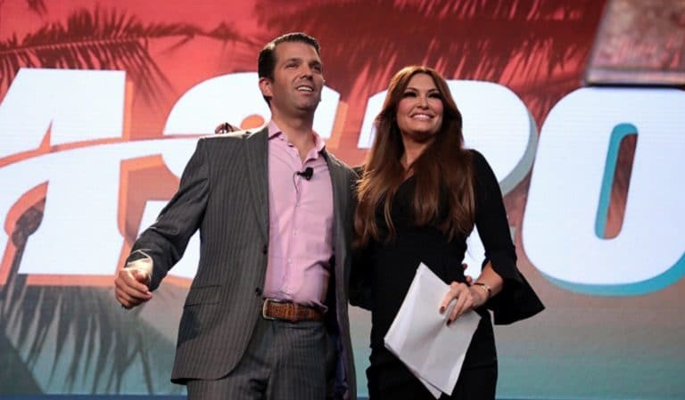 """Don Jr. Says He Would Be """"A Really Bad"""" Racist Because He Has A Puerto Rican Girlfriend"""