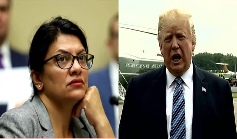 Trump Drags Tlaib's Grandmother Into His Latest Twitter Attack Against Congresswoman