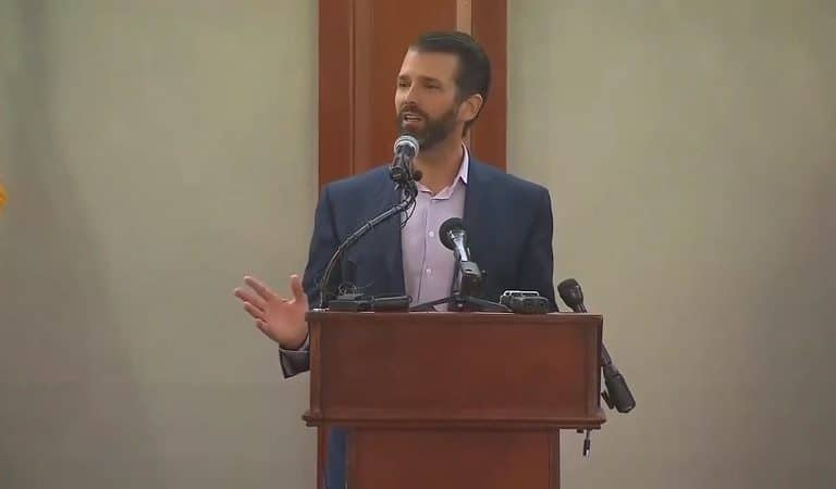"""Trump Jr. Just Referred To Congresswomen As """"The Hamas Wing Of Congress"""" During Latest Speech"""