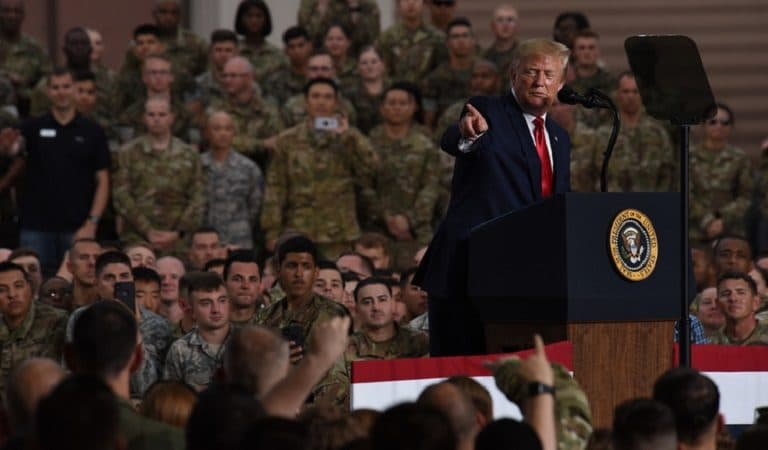 Veterans Organization Demands Apology From Trump After He Appeared To Lie About Troops' Injuries During Soleimani Attack