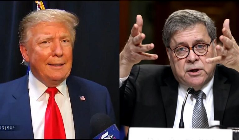 New Report Suggests Bill Barr Appears To Be Taking Control Of Legal Matters That Trump Has An Interest In