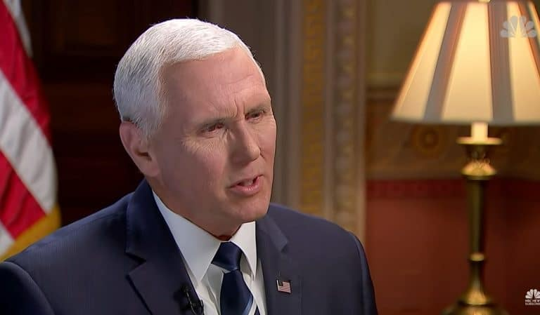 Report Suggested Pence's Office Rerouted Money From Foreign Aid To Preferred Christian Groups