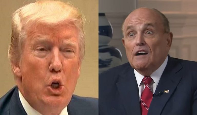 "WSJ Reports That Trump Bullies His Lawyer Giuliani Behind Closed Doors: ""Man, Rudy, You Sucked"""
