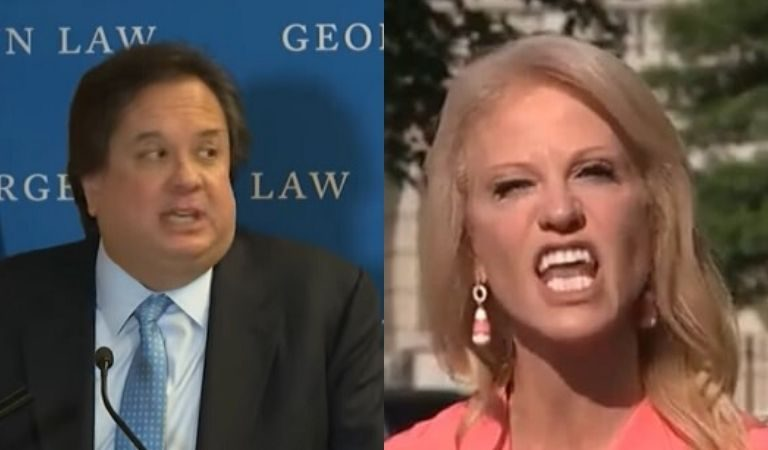 "George Conway Just Shared An Ambiguous Tweet That Twitter Says Is In Response To Kellyanne's ""He Gets His Power Through Me"" Comment"