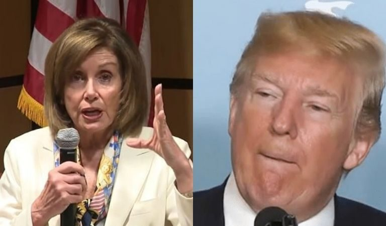 Nancy Pelosi Just Responded To Trump's Meltdown On Twitter, Calls Him Out On Ukrainian Scandal