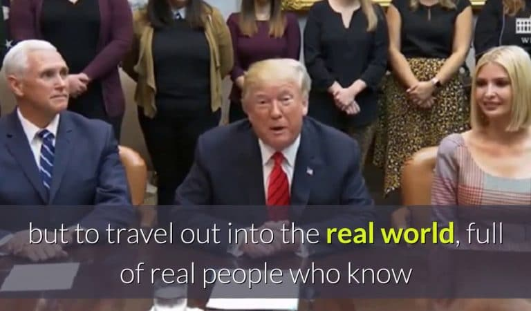 Trump Called All-Female Spacewalk Crew To Congratulate Them, Made False Claim And Got Fact Checked From Space