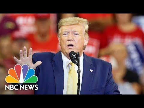 Trump Curses At Democrats Over Impeachment Inquiry During Louisiana Rally