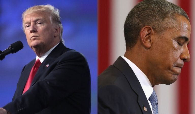 "Trump Called ""Barack Hussein Obama"" Lazy During Rant At Mississippi Rally"