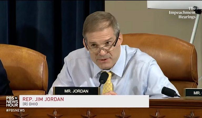 Senate Republican Warns Trump To Keep Jim Jordan Out Of Impeachment Trial