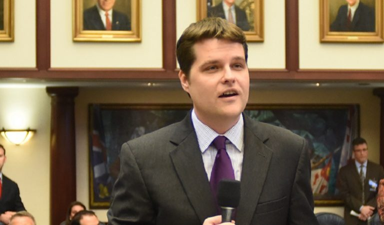 Matt Gaetz, Who Voted Against Paid Sick Leave For Americans, Is Now Taking Paid Leave From Congress