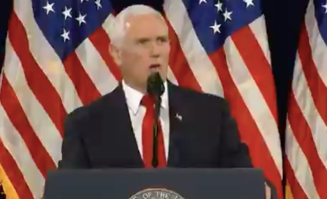 "Pence Takes The Stage At ""Black Voices For Trump Event,"" Says POTUS Will Win Reelection By ""Historic Percentage Of African-Americans"""