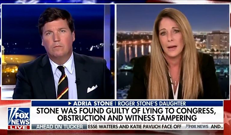 Roger Stone's Daughter Goes On Fox News, Appears To Beg Trump To Pardon Her Father