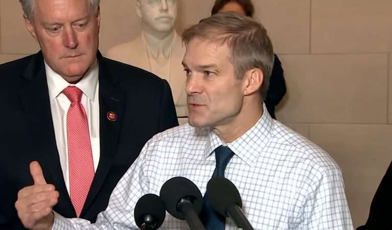 "Trump Comments On How Jim Jordan Never Wears A Jacket: ""He's Obviously Very Proud Of His Body"""
