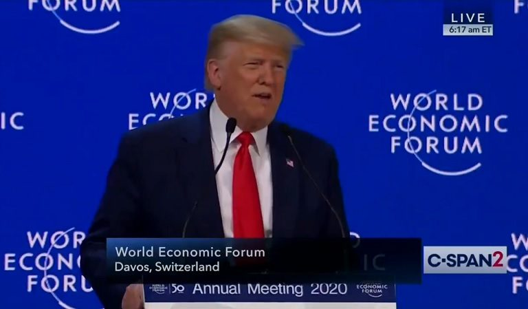 """Social Media Users Speculate Trump's Health Has Taken A Turn For The Worse After Davos Image Emerges: """"My Neurologist Would Be All Over That"""""""