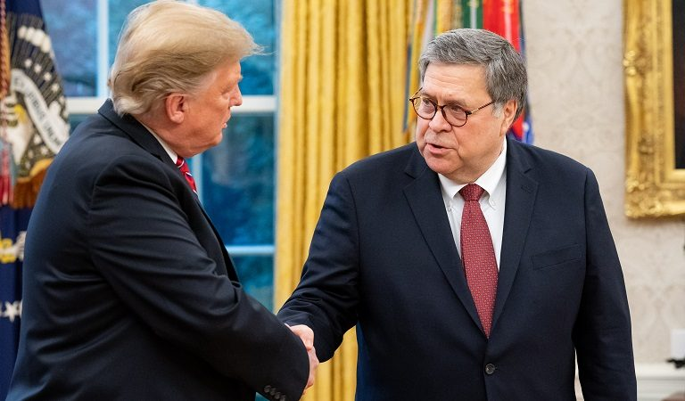 William Barr Seems To Be Going After Trump's Enemies One At A Time