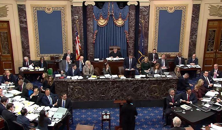 "Large Block Of Republican Senators Left Impeachment Hearing During Adam Schiff's Speech Leaving ""21 Empty Seats"""
