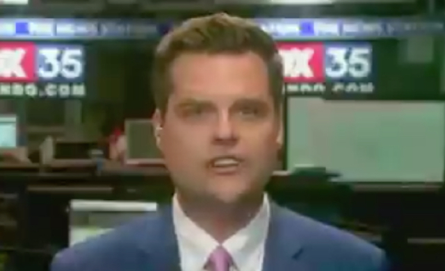 "Matt Gaetz Went On Fox News, Praised Trump For Being ""The First President To End One Of These Forever Wars And Not Start One"""