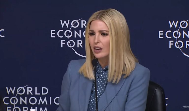 Ivanka Seems To Remind Americans That She Thinks She's An Important Government Official And Americans Clap Back