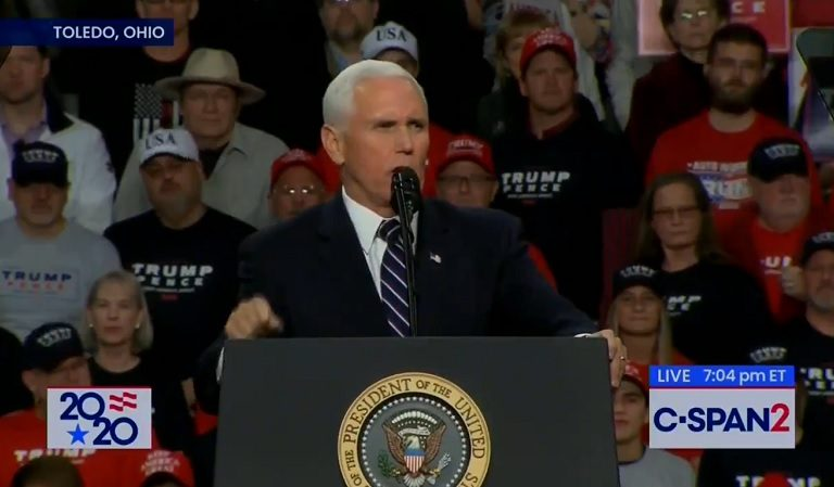 "Pence Kicks Off Trump's Rally By Seemingly Blowing A Hole In POTUS' ""Imminent Threat"" Excuse For Iran Attack"