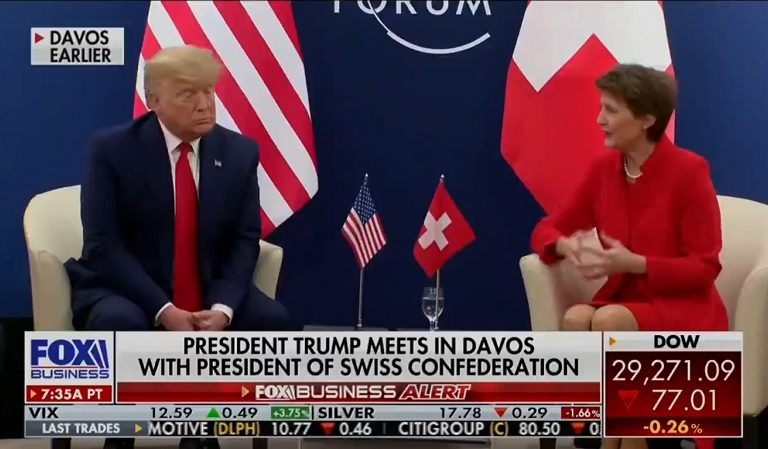 """Social Media Believes Trump Openly Disrespected Female Swiss Leader When She Brought Up Climate Change: """"Wow, He Didn't Try To Act As If He Gives A Sh*t"""""""