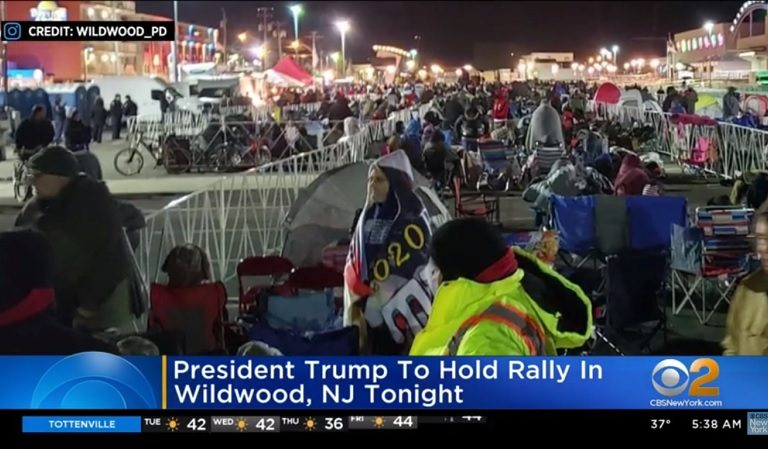 """Trump Boasted About """"Tens Of Thousands"""" In Attendance As Supporters There Claim It Was """"The Worst Organized Thing In The World,"""" Talked Of """"Overflowing Portable Toilets And Lots Of Trash"""""""