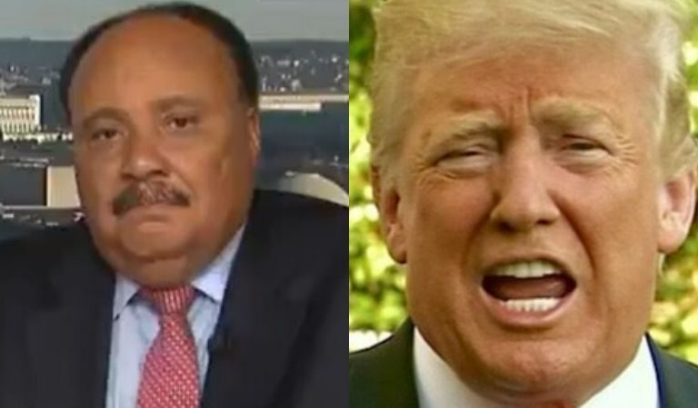 Martin Luther King Jr.'s Son Responds To Trump's MLK Tweet, Doesn't Hold Back