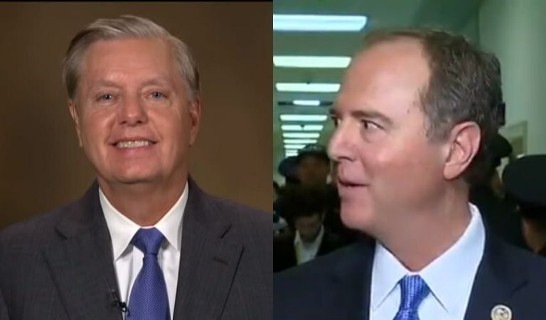 People Are Wondering What Is Going On With Lindsey Graham After Congressional Reporter Claimed He Complimented Adam Schiff