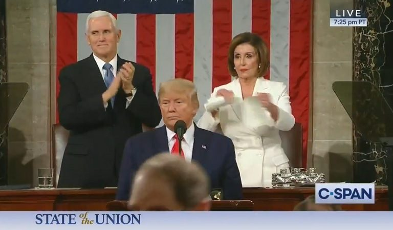 """Assistant Chief Of Police Said Nancy Pelosi Could Be Targeted By """"Roadside Bomb On Her Way Home"""" For Tearing Up SOTU Speech"""