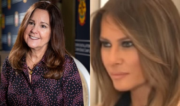 According To Reports, Trump Campaign Is Enlisting Karen Pence To Reach Women Because Melania Doesn't Seem To Be An Option