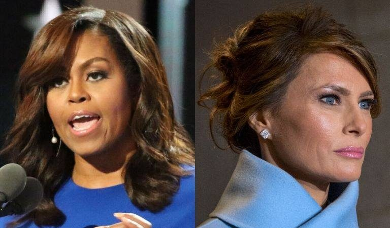 Michelle Obama Shows Melania How To Be A First Lady, Sends Poignant Message To Calm Americans