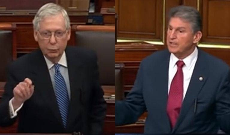 Joe Manchin Calls Out McConnell To His Face On The Senate Floor For Caring More About Wall Street Than American Families