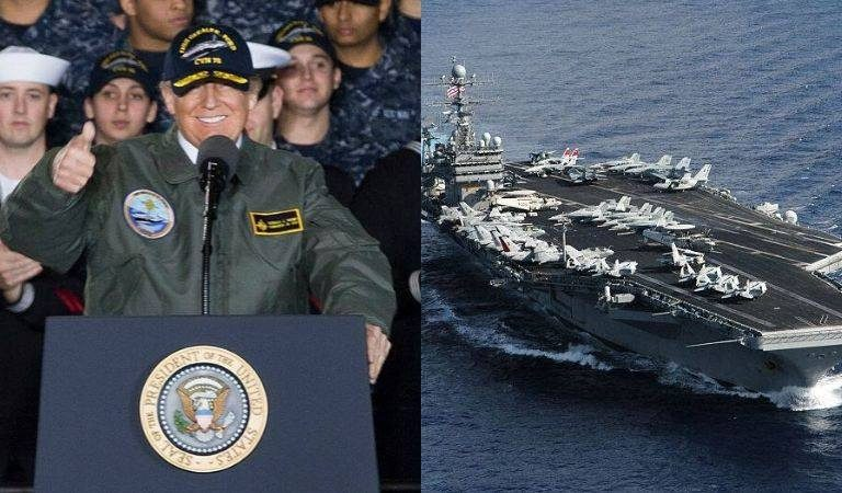 """US Navy Captain Appears To Contradict Trump's Claim That We Are At """"War Against An Invisible Enemy"""" After Virus Hits Aircraft Carrier"""