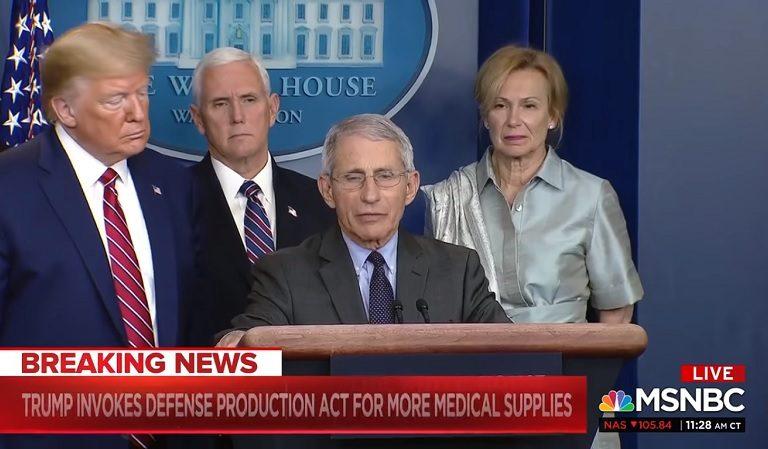 Trump Cut Fauci Off To Override Him On COVID-19 Drug