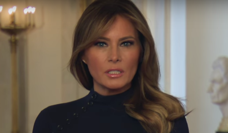 Melania Urges Americans To Wear A Mask Even Though Her Husband Says He Won't Wear One