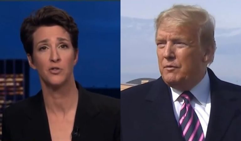 """Rachel Maddow Fires Off On Trump After POTUS Thanked Her On Twitter: """"You Are Leading The Worst National Response In The World"""""""
