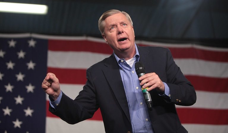 "Lindsey Graham Reportedly Says Congress Would Extend Additional Unemployment Benefits Provided In COVID Relief Package ""Over Our Dead Bodies"""